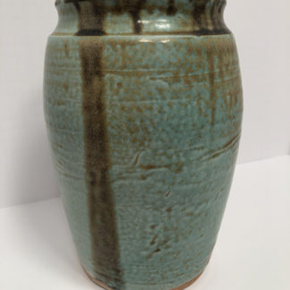 Oxidized Copper Vase