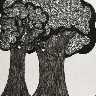 Trees in B & W