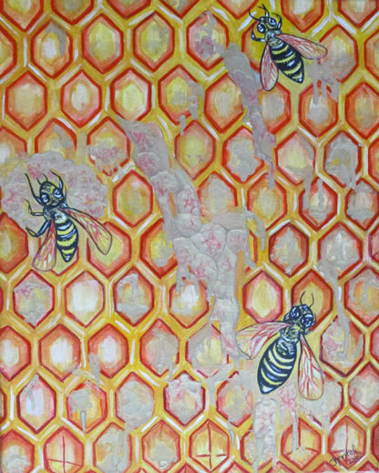 The Trinity of Bees and the Golden Honey