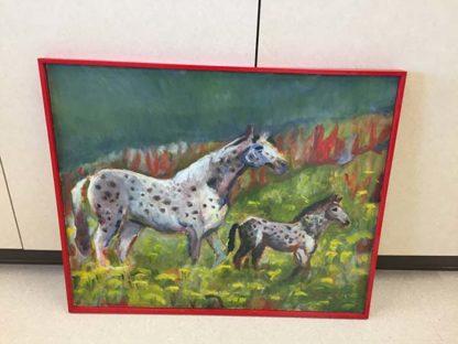 Horse & colt