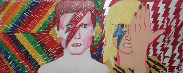 David Bowie Tribute with Lady Gaga