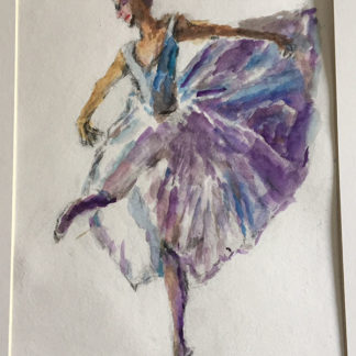 Purple Ballerina